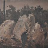 ANNIGONI_Paesaggio, olio su cartoncino, 19 x 28 cm