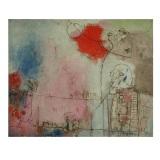 ROGNONI, Ma quando?, 1973, olio su tela, 81 x 100 cm