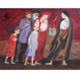 LONGARETTI_Gente del circo_olio su tela_60 x 80 cm