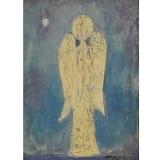 ROGNONI_Angelo bianco, 1975, olio su tela, 45 x 37 cm