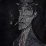 B&B 464_Bru Bru, olio su tela, 46 x 38 cm