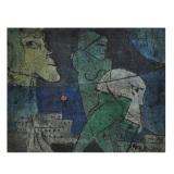 ROGNONI_Città, 1984, olio su tela, 33 x 41 cm