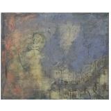ROGNONI_Notte azzurra, 1966, olio su tela, 81 x 100 cm
