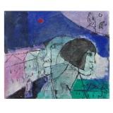 ROGNONI_Profili_olio su tela_46 x 55 cm