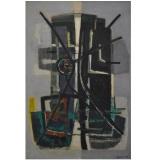 BIROLLI_Elementi di Laguna, 1955, olio su tela, 120 x 80 cm
