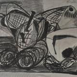 BIROLLI_Natura morta, 1949, tecnica mista su carta, 48 x 66 cm