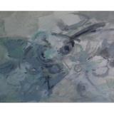 BIROLLI_Questo grigio profumo della sera, 1959, tecnica mista su cartone telato, 50 x 70 cm