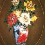 BUENO_Vaso di fiori, 1942, olio, 40 x 30 cm