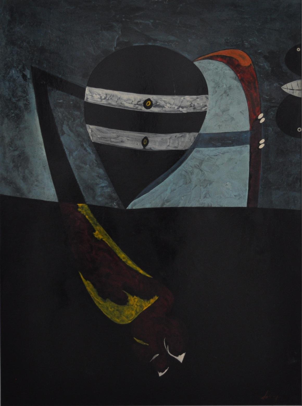 DOVA_Senza titolo, olio, 90 x 72 cm