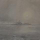 FERRARINI_Venezia S Giorgio, 1983, acquerello, 41 x 54 cm