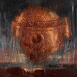 OMAR GALLIANI, TRISTANO, 1987, olio su tela, 281x282 cm