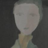 GUIDI_Baronessa, 1959, olio su tel, 50 x 30 cm