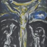 GUIDI_La Crocefissione, olio su tela, 50 x 40 cm