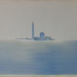 GUIDI_San Giorgio, olio su tela, 50 x 60 cm