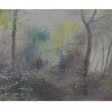 LILLONI_Autunno sul Monte generoso, 1967, olio su tela, 50 x 65 cm