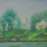 LILLONI_Il Lambro, 1966, olio su tela, 26.5 x 35 cm