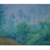 LILLONI_Paesaggio lombardo, 1964, olio su tela, 50 x 73 cm