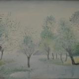 LILLONI_Paesaggio, olio su tela, 50 x 60 cm