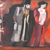 LONGARETTI_Famiglia, 1996, olio su tela, 30 x 40 cm