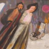 LONGARETTI_Inverno, 2012, olio su tela, 50 x 60 cm