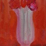 LONGARETTI_La brocca biancoviola e fiori, 2013, olio su tela, 20 x 30 cm