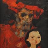 LONGARETTI_Morte vita a piazza vecchia, 1978, olio su tela, 60 x 50 cm