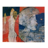 ROGNONI, Interno esterno, 1989, olio su tela, 46 x 55 cm