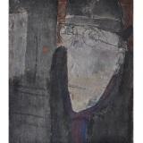 ROGNONI_Il pendolare, olio su tela, 46 x 38 cm