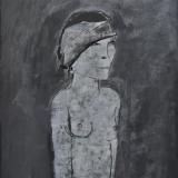 ROGNONI_La piccola cloche, 1980, tecnica mista, 70 x 50 cm
