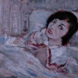 SASSU_Maura, ricordo di Roma, 1955, olio su tela, 50 x 70 cm