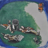 GUTTUSO_Natura morta, 1965, olio su tela, 78 x 88.5 cm
