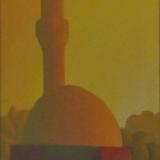 SALVO_Paesaggio, 1990, olio su tela, 50 x 39.5 cm