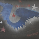 ANGELI_souvenir, tecnica mista su tela, 45 x 75 cm