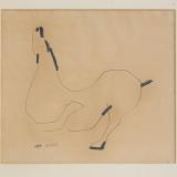 MARINO MARINI_Senza titolo, china e pennarello su carta, 32.5 x 36 cm