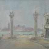 PASTORIO_Senza titolo, olio su tela, 58 x 68 cm