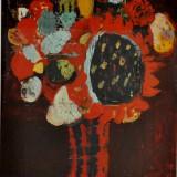FIUME_Fiori, anni 70, olio su tela, 70 x 54 cm