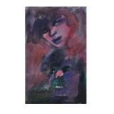 MACCARI_Senza titolo, anni 80, olio su tela, 30 x 20 cm