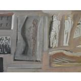 SIRONI_Composizione, fine anni 30, tempera su carta, 41 x 70 cm