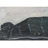 SIRONI_Paesaggio_fine anni 40-inizio 50_olio su cartone telato_32 x 44 cm