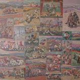 MUCHETTI_Scene varie, olio su tela, 200 x 200 cm